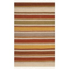 <strong>Safavieh</strong> Striped Kilim Rug