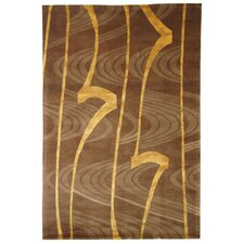 <strong>Safavieh</strong> Tibetan Brown / Gold Rug