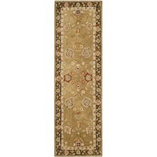 Taj Mahal Gold / Chocolate Rug