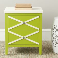 <strong>Safavieh</strong> Sherrilyn 2 Drawer End Table