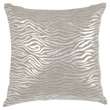 Demi Linen Throw Pillow in Silver (Set of 2)