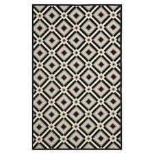 Four Seasons Black / Grey Outdoor Rug