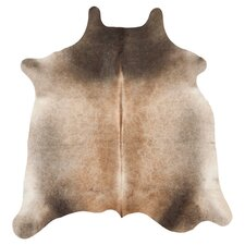 Cow Hide Tan Rug