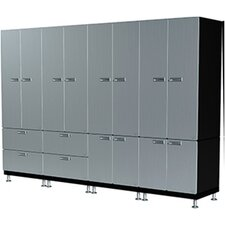 14 Piece Wall  Storage Cabinet Set