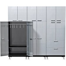 11 Piece Solution S72 Wardrobe Storage Cabinet Set