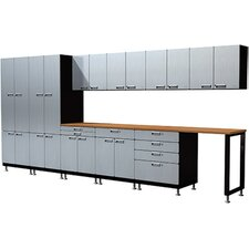 26 Piece Tool Space S72 Workshop Cabinet Set