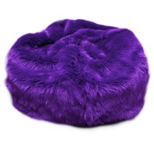 <strong>Fun Furnishings</strong> Fuzzy Fur Bean Bag Chair