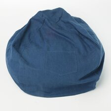 Large Denim Bean Bag Chair