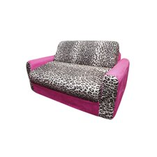 Micro and Leopard Kid's Sleeper Sofa