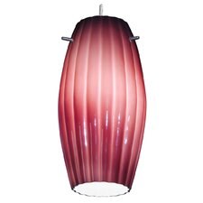 Fleur Moulded Cylinder Glass Shade