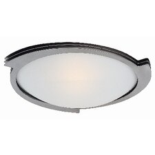 <strong>Access Lighting</strong> Triton 1 Light Flush Mount