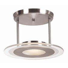 <strong>Access Lighting</strong> Helius 1 Light Semi Flush Mount