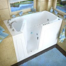 "<strong>Therapeutic Tubs</strong> Aspen 60"" x 32"" Whirlpool & Air Jetted Walk-In Bathtub"