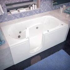 "Stream 60"" x 30"" Whirlpool Jetted Step-In Bathtub"