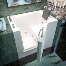 "Catalina 39"" x 27"" Whirlpool Jetted Walk-In Bathtub"