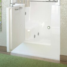 "Mesa 40"" x 30"" Whirlpool Jetted Walk-In Bathtub"
