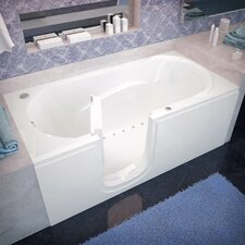 "Stream 60"" x 30"" Air Jetted Walk-In Bathtub"
