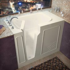 "Flagstaff 52"" x 29"" Soaking Walk-In Bathtub"