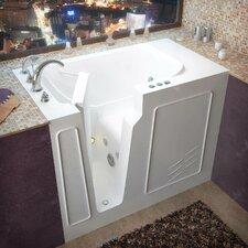 "Flagstaff 52"" x 29"" Whirlpool Jetted Walk-In Bathtub"