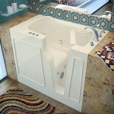 "Prairie 46"" x 26"" Whirlpool Jetted Walk-In Bathtub"