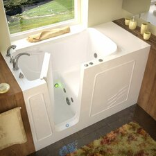 "Tucson 60"" x 30"" Whirlpool Jetted Walk-In Bathtub"