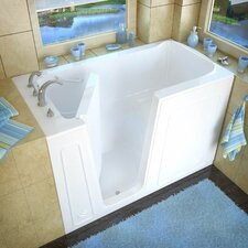 "Aspen 60"" x 32"" Soaking Walk-In Bathtub"