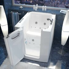 "Durango 38"" x 32"" Whirlpool and Air Jetted Walk-In Bathtub"