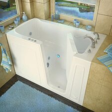 "Aspen 60"" x 32"" Whirlpool Jetted Walk-In Bathtub"