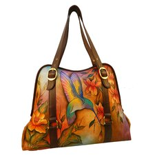 Wide Entry Flying Jewels Tote Bag