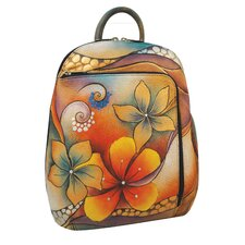 Sling-Over Tribal Bloom Travel Backpack