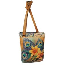 Peacock Lily Travel Cross-Body