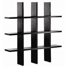 "Tic Tac Toe 79.25"" Bookcase"