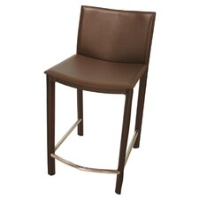 "Elston 24"" Bar Stool with Cushion"