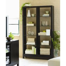 Massimo Double Etagere in Powder Coated Black