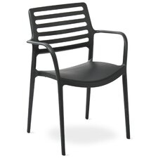 Sala Stacking Dining Arm Chair