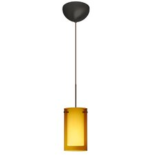 <strong>Besa Lighting</strong> Pahu 1 Light Mini Pendant