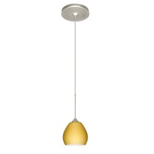 <strong>Besa Lighting</strong> Tay Tay 1 Light Mini Pendant
