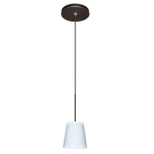<strong>Besa Lighting</strong> Canto 1 Light Mini Pendant