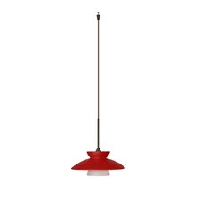<strong>Besa Lighting</strong> Trilo 1 Light Mini Pendant