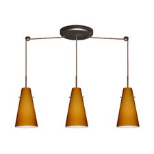 <strong>Besa Lighting</strong> Cierro 3 Light Linear Pendant