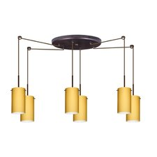 <strong>Besa Lighting</strong> Stilo 6 Light Mini Pendant