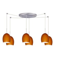 <strong>Besa Lighting</strong> Lucia 6 Light Pendant