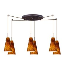 <strong>Besa Lighting</strong> Cierro 6 Light Mini Pendant