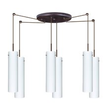 Stilo 6 Light Mini Pendant