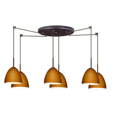 <strong>Besa Lighting</strong> Vila 6 Light Pendant