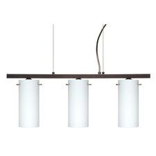 Copa 3 Light Kitchen Island Pendant