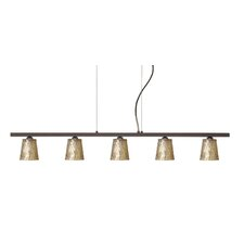 Nico 5 Light Linear Pendant
