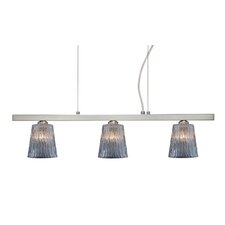 <strong>Besa Lighting</strong> Nico 3 Light Linear Pendant