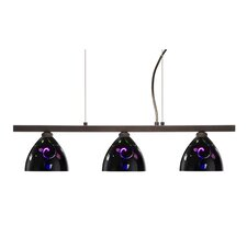 Sabrina 3 Light Linear Pendant