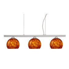 <strong>Besa Lighting</strong> Palla 3 Light Linear Pendant